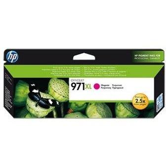 Inkoustová náplň HP 971XL purpurová, CN627AE