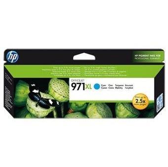 Inkoustová náplň HP 971XL azurová, CN626AE