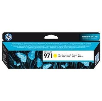 Inkoustová náplň HP 971 žlutá, CN624AE