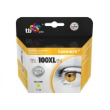 Inkoustová náplň TB Lexmark 14N1071E kompatibilní - žlutá
