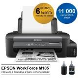 Tiskárna inkoustová Epson WorkForce M105, CIS A4, 37str./min, 1440 x 720, WF, USB