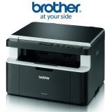 Tiskárna multifunkční Brother DCP-1512E A4, 20str./min, 2400 x 600,  - černá/šedá