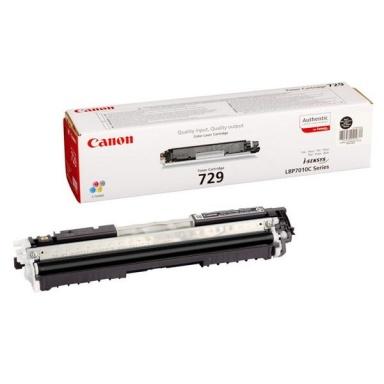 Toner Canon CRG-729Bk, 1,2K stran originální - černý