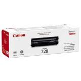 Toner Canon CRG-728, 2,1K stran, originální - černá