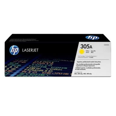 Toner HP CE412A, 2,6K stran originální - žlutý