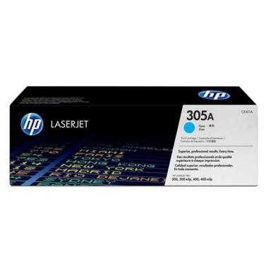 Toner HP CE411A, 2,6K stran originální - modrá