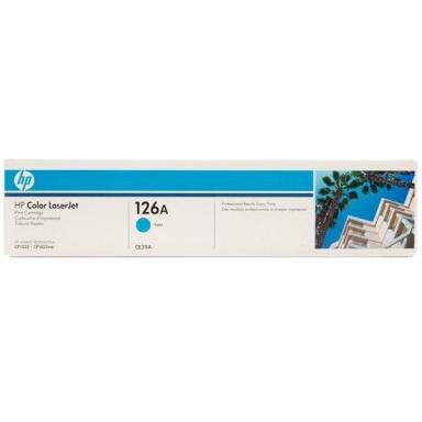 Toner HP CE311A, 1K stran originální - modrá