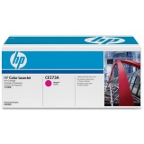 Toner HP 650A, 15000 stran originální - červený