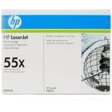 Toner HP 55X, 13 000 stran originální - černý