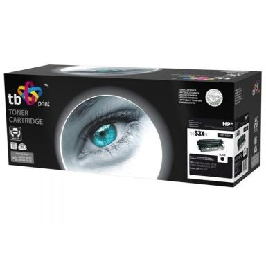 Toner TB HP Q7553X kompatibilní - černý