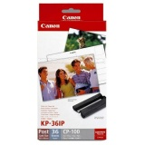 Fotopapír Canon KP36IP pro termosublimační tiskárny,10x15, 36 listů
