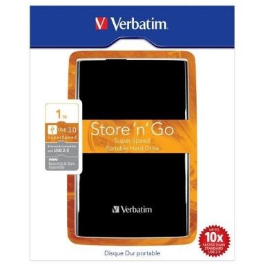 """HDD ext. 2,5"""" Verbatim Store \'n\' Go 1TB - černý"""