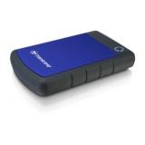 "HDD ext. 2,5"" Transcend StoreJet 25H3B 2TB, USB 3.0 (3.1 Gen 1) - černý/modrý"
