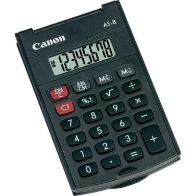 Kalkulačka Canon AS-8 - černá