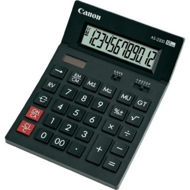 Kalkulačka Canon AS-1200 - černá
