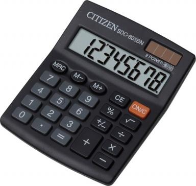 Kalkulačka Citizen SDC-805BN - černá