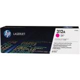 Toner HP 312A, 2700 stran originální - červený