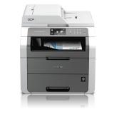 Tiskárna multifunkční Brother DCP-9020CDW A4, 18str./min, 18str./min, 2400 x 600, 190 MB, duplex, WF, USB - šedá/bílá