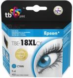 Inkoustová náplň TB Epson T1812 C kompatibilní - modrá