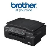 Tiskárna multifunkční Brother MFC-J200, INK Benefit A4, 27str./min, 10str./min, 6000 x 1200, 64 MB, WF, USB - černá