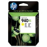 Inkoustová náplň HP No. 940XL, 1400 stran originální - žlutá