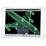"Dotykový tablet Apple iPad Air 9.7"", 64 GB, WF, BT, iOS - stříbrný/bílý"