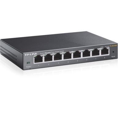 Switch TP-Link TL-SG108E Gigabit 8 port, Gigabit