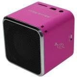 Přenosný reproduktor Technaxx Mini MusicMan, růžový