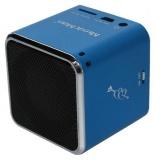 Přenosný reproduktor Technaxx Mini MusicMan, modrý