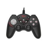 Gamepad Trust GXT 24 Compact pro PC - černý/šedý