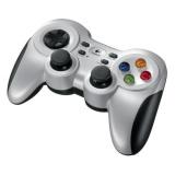 Gamepad Logitech F710 Wireless pro PC - stříbrný