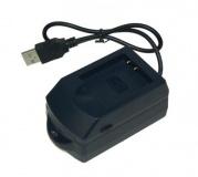 USB nabíječka AVEPU 152 pro Li-ion akumulátor Olympus Li-50B, Sony NP-BK1