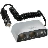 Rozdvojka Carpoint 12V - s USB přípojkou