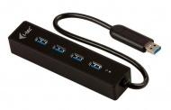 USB Hub i-tec USB 3.0 / 4x USB 3.0 - černý