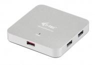 USB Hub i-tec USB 3.0 / 6x USB 3.0 - stříbrný