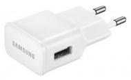Nabíječka do sítě Samsung EP-TA20EWE, 1x USB, 2A, s funkcí rychlonabíjení + MicroUSB kabel (bulk) - bílá