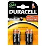Baterie alkalická Duracell AAA 2400 K4 Duralock