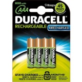 Baterie nabíjecí Duracell StayCharged AAA 800 mAh K4