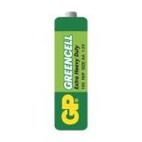 Baterie zinkochloridová GP Greencell AA, R06, fólie 4ks