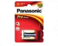 Baterie alkalická Panasonic 9V PRO POWER, BLISTR /1BP