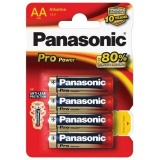Baterie alkalická Panasonic Pro Power AA, LR06, blistr 4ks