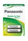 Baterie nabíjecí Panasonic Evolta AA, HR6, 1900mAh, Ni-MH, blistr 2ks