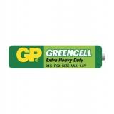 Baterie zinkochloridová GP Greencell AAA, fólie 2ks