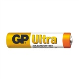 Baterie alkalická GP Ultra AAA, fólie 2ks