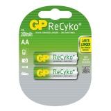 Baterie nabíjecí GP ReCyko+ Pro AA, HR06, 2000mAh, Ni-MH, krabička 2ks