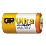 Baterie alkalická GP Ultra C, LR14, fólie 2ks