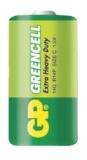 Baterie zinkochloridová GP C, R14, fólie 2ks