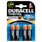 Baterie alkalická Duracell Turbo AA 1500 K4 Duralock
