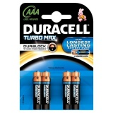 Baterie alkalická Duracell Turbo AAA 2400 K4 Duralock