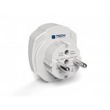 Cestovní adaptér TECH TBU-969 pro EU, 2x USB